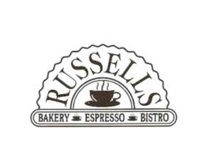 Russells Bakery - Gift Card #3 - Photo 1