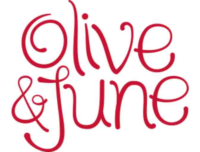 Olive & June - Dinner for Two gift certificate
