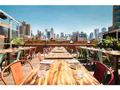 $100 Gift Certificate to Cantina Rooftop in NYC