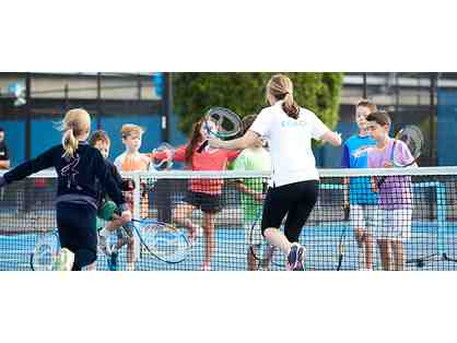 $1000 in group tennis lessons for two children
