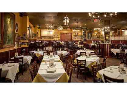 $100 gift certificate to Carmine's Italian Restaurant (good at Virgil's Real Barbecue)