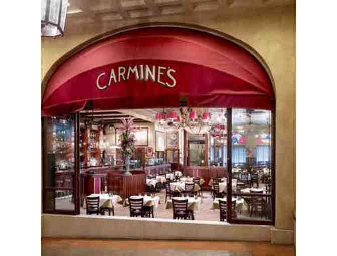 $100 gift certificate to Carmine's Italian Restaurant (good at Virgil's Real Barbecue) - Photo 2