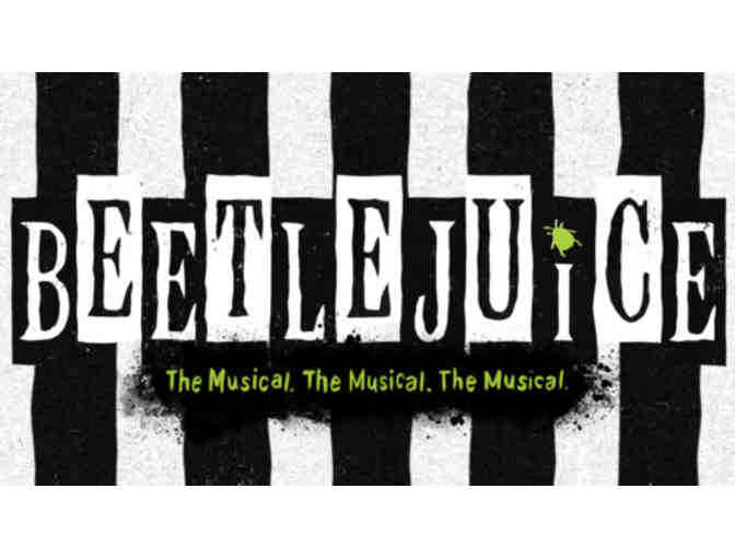 Pair of Tickets to Beetlejuice on Broadway - Photo 1