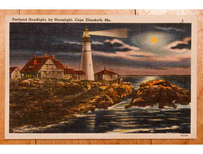 Maine Lighthouse Postcards #2 - Lot of 10
