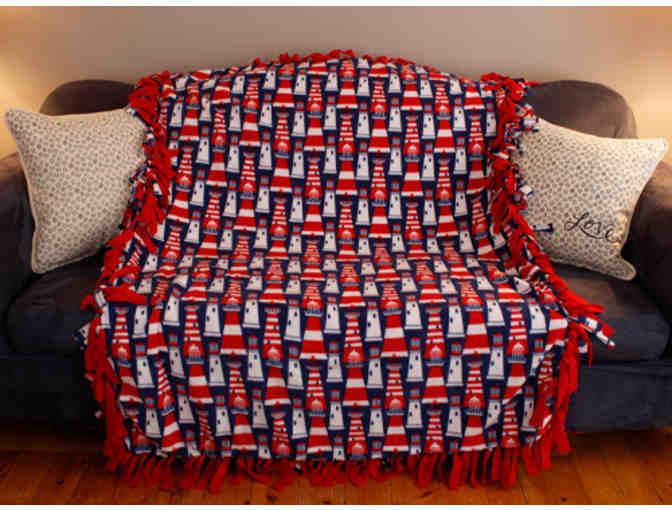 Fleece Lighthouse Blanket