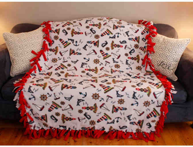 Nautical Fleece Blanket