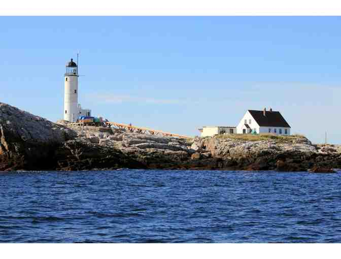 2 Tickets -  '5 Lighthouse Cruise,'  Sept. 14, 2019 from Rye, NH