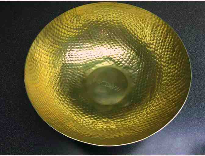 Marc Cain Hammered Brass Bowl