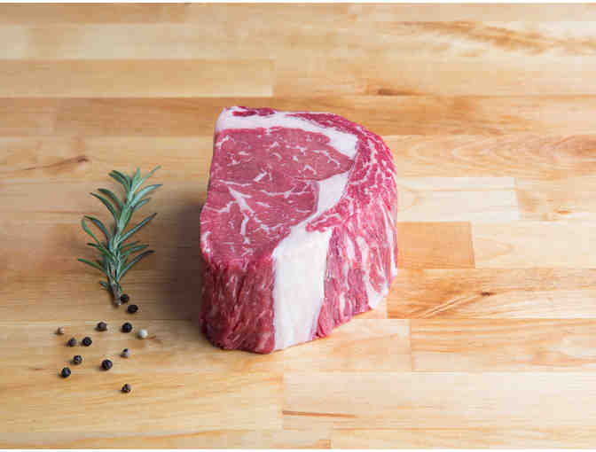Grow and Behold: Two Dry-Aged 2' Kosher Rib Steaks