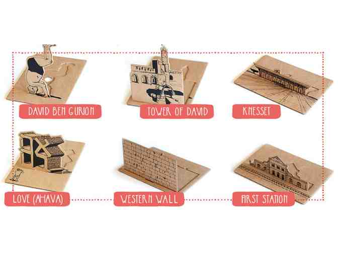 Jerusalem City Stories: 3D Pop-Up Postcards