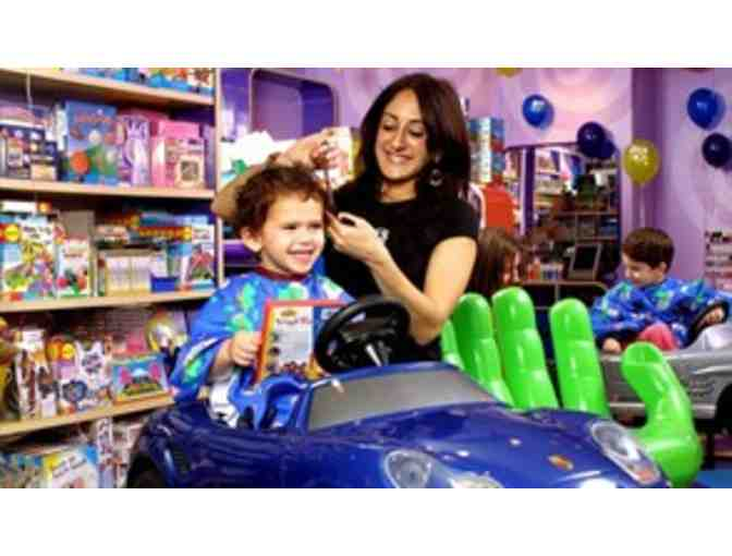 Cozy's Cuts for Kids: One Child's Haircut on UES