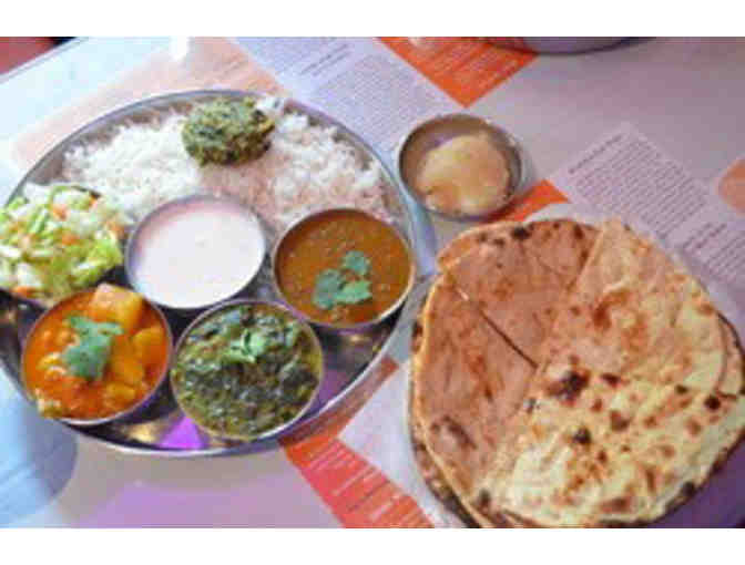 Ayurveda Cafe: Vegetarian Indian Dinner for Two