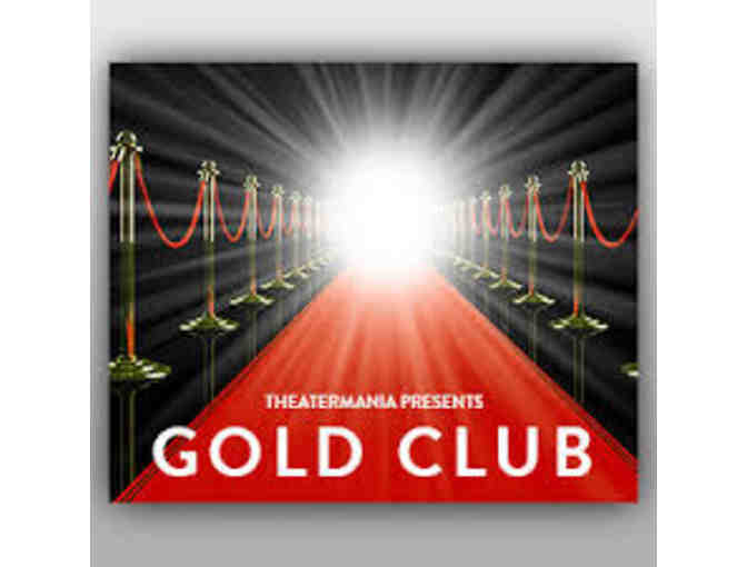 TheaterMania's Gold Club: One-Year Membership for Two