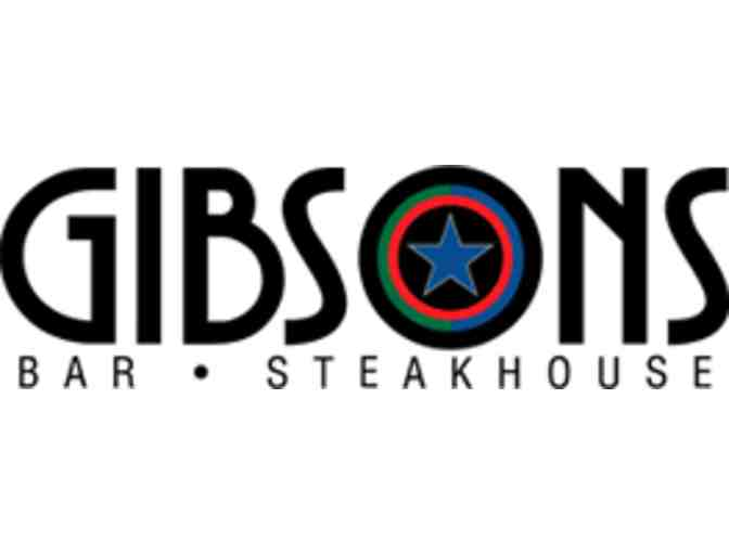 Gibson's Restaurant Group Gift Card - $100