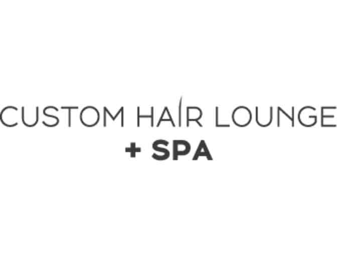 Custom Hair Lounge + SPA - Men's Haircut