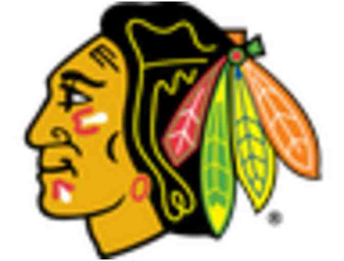 3 Blackhawks Tickets - Blackhawks vs. Columbus Blue Jackets