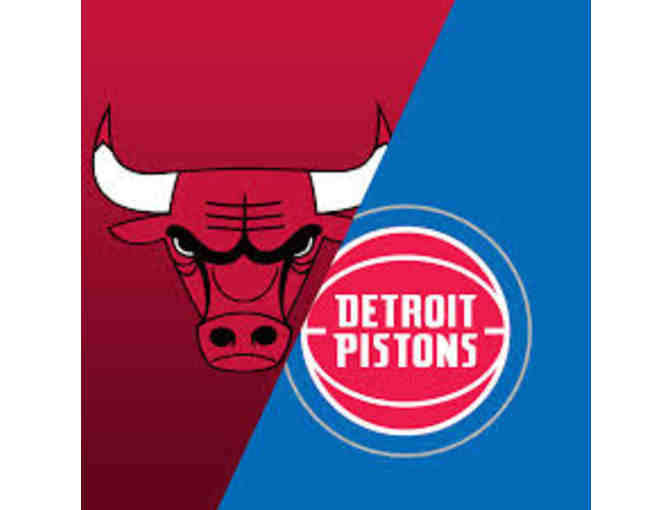 2 Bulls Tickets - Bulls vs. Pistons