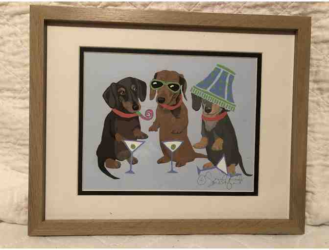 Sarah England Design-Dachshund Party Animals
