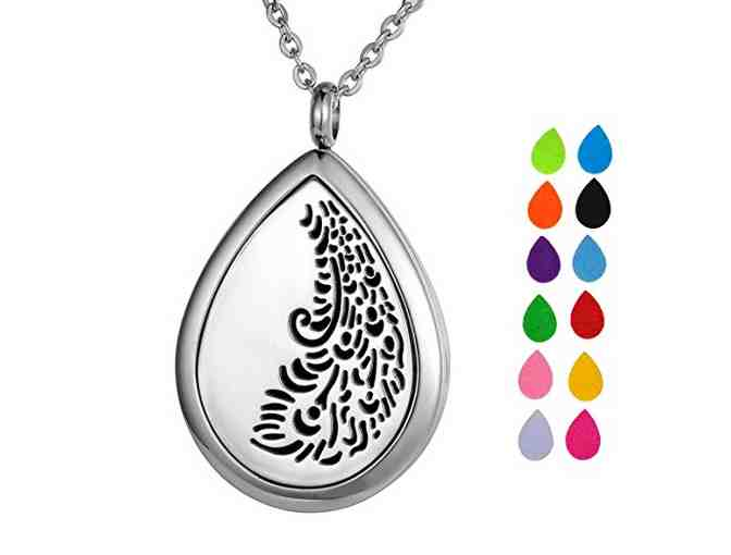 VALYRIA Aromatherapy Essential Oil Diffuser Necklace