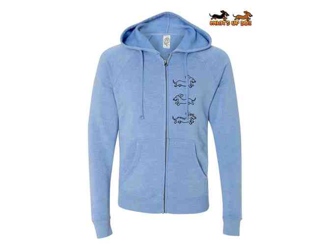 Dachshund Trio Full Zip Hoodie - Photo 1
