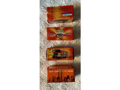 003. Matchbox Lot of Four collectibles from the 2000 NYC Toy Fair