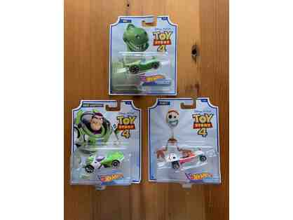 003. Toy Story 4 - Hot Wheels cars lot of three