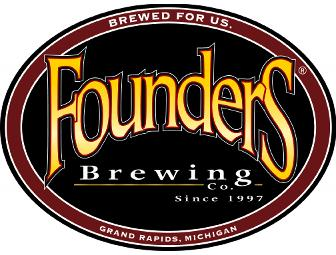 Tour & Tasting for 10, Gift Card, and Gift Box Glassware Set from Founders Brewing Co.
