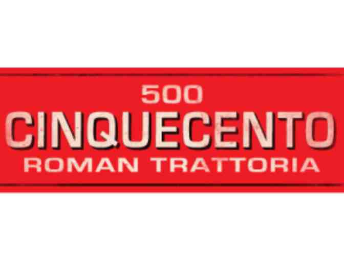 $100 gift certificate to Cinquecento Restaurant in Boston - Photo 1