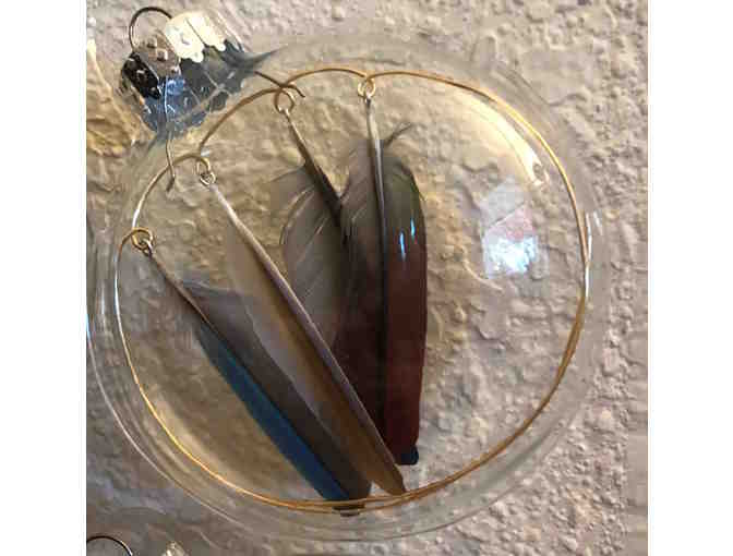 Feather Ornament Set