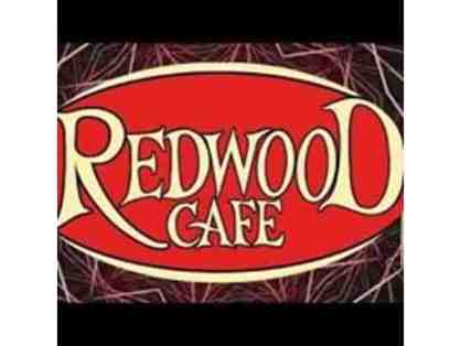 $50 Redwood Cafe Gift Certificate