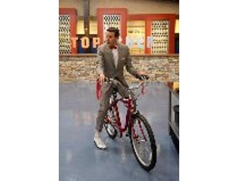 Pee Wee Herman's TOP CHEF: TEXAS Bike