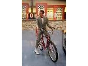 Pee Wee Herman's 'Top Chef' Bike