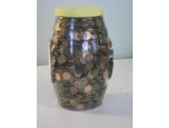 40 Pounds of Unsorted Pennies
