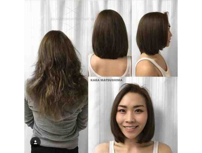 Creative Cuts Int'l haircut including shampoo and blow dry