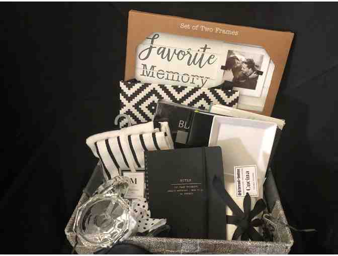 Black & White Gift Basket
