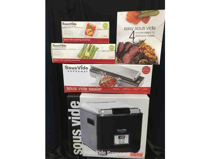 Sous Vide Supreme - Sous Vide Kit including vacuum seal