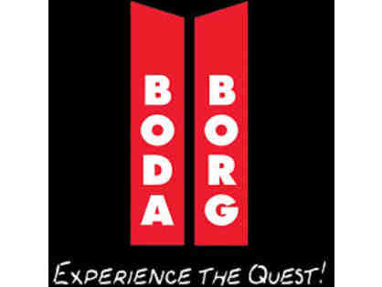 Boda Borg Questing for Five People for Two Hours