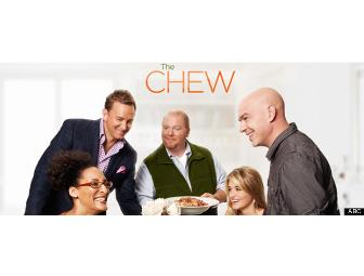 2 Ticket's to ABC's 'The Chew' with Seats at the Tasting Table + 1 Signed Cookbook