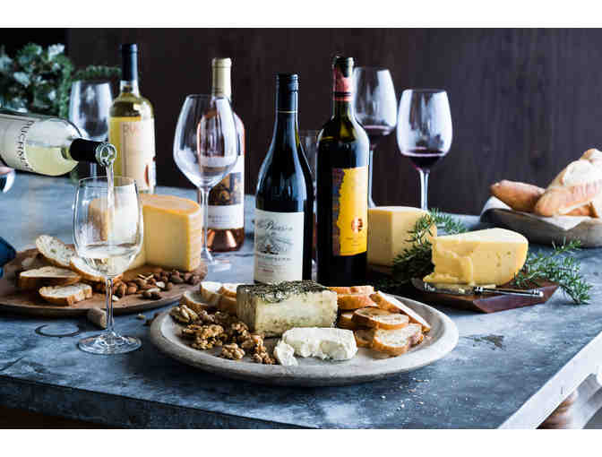 CHEESE AND WINE PAIRING EXPERIENCE ON SATURDAY, MAY 18TH (THIS ITEM ENDS EARLY**)