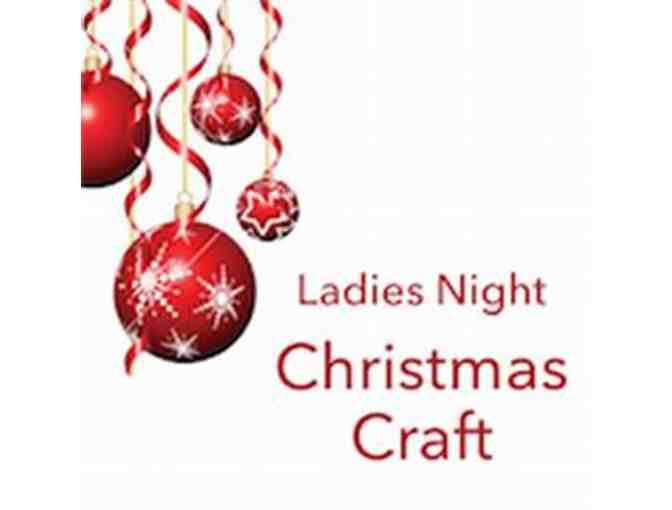 CHRISTMAS THEMED CRAFT PARTY ON OCTOBER 12TH