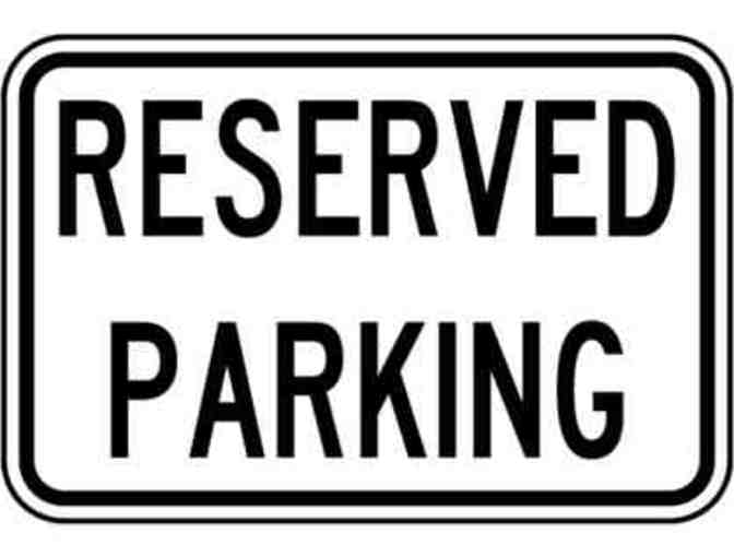 8th GRADE GRADUATION RESERVED PARKING