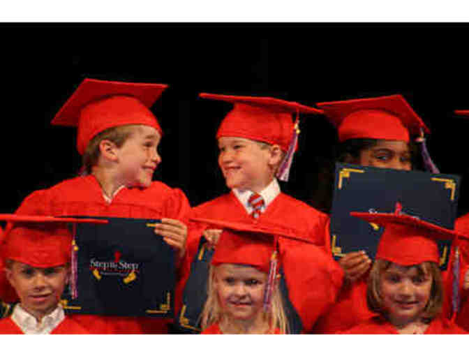 KINDER GRADUATION 2nd ROW PEW