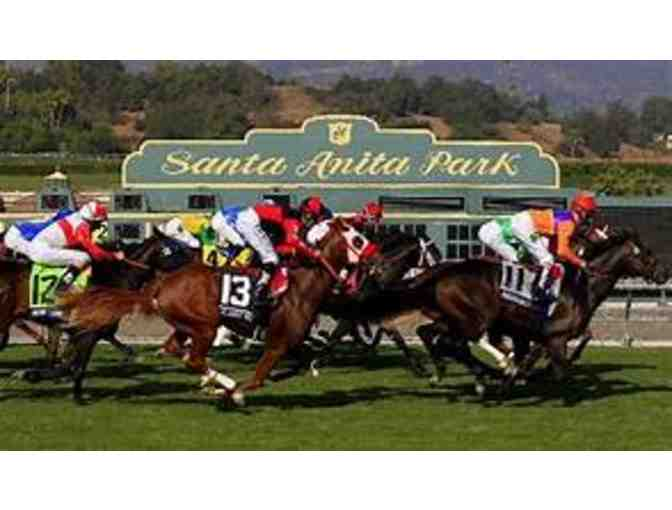 4 CLUB HOUSE ADMISSIONS WITH PARKING PASS TO SANTA ANITA PARK