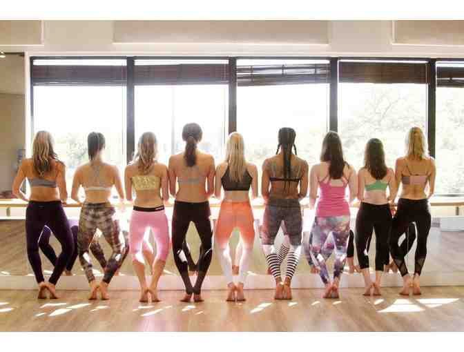 BARREWORKS REDONDO BEACH 5 CLASSES $100 VALUE