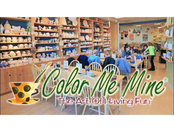 COLOR ME MINE TORRANCE $25 GIFT CERTIFICATE