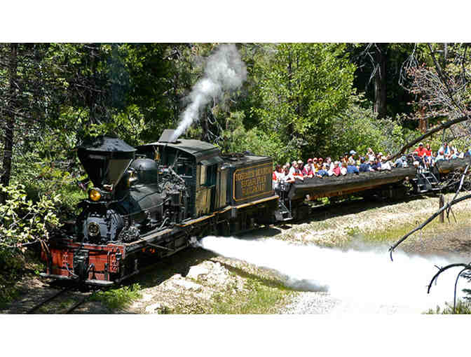 GIFT CERTIFICATE FOR YOSEMITE SUGAR PINE RAILROAD
