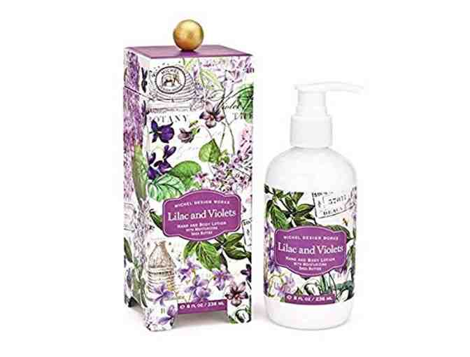 LAVENDER & LILAC SOAP AND LOTION SET