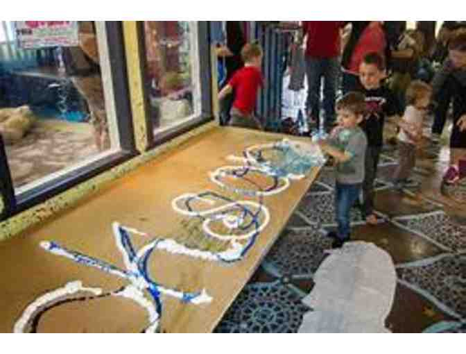 TIME FOR KIDS TO GET MESSY AT ART ZONE! TWO OPEN STUDIO SESSIONS