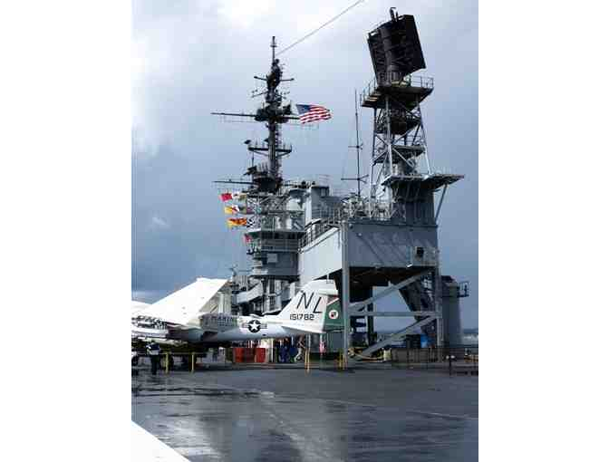 USS MIDWAY MUSEUM ONE FAMILY PACK FOR 4