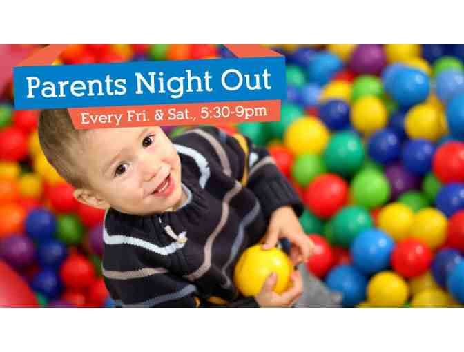 ONE ADMISSION TO PARENTS' NIGHT OUT AT ADVENTUREPLEX